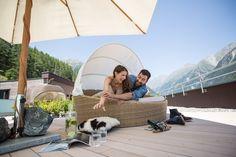 Panoramaterrasse am Dach Design Hotel, Superior Hotel, Snow Skiing, Austria, Outdoor Decor, Patio, Cosy Room