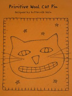 Primitive Cat Pattern