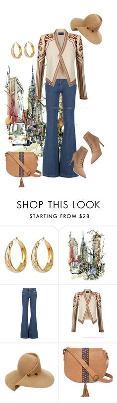 """Без названия #416"" by yanina272 ❤ liked on Polyvore featuring Diane Von Furstenberg, Michael Kors, BCBGMAXAZRIA, Eugenia Kim, T-shirt & Jeans and Ava & Aiden"