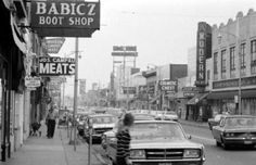 Downtown Hamtramck.  1960s