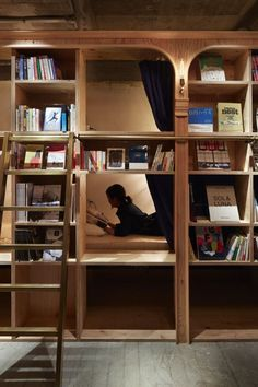 Book And Bed Tokyo Suppose Design Office