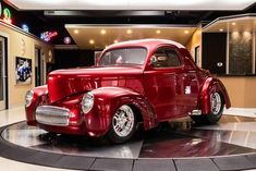 1941 Willys Coupe For Sale In Plymouth Mi 89 900 In 2020 Willys Street Rods Shaved Door Handles