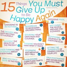 15 Things You Must G