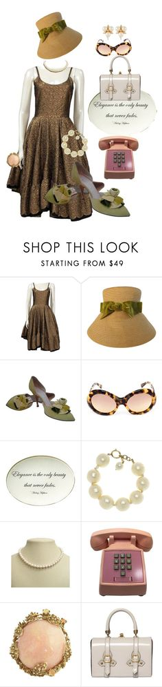 """Call Me Audry"" by glamourgrammy ❤ liked on Polyvore featuring Lanvin, Oliver Goldsmith, Twigs and Moss, Chanel, DaVonna, Tano and Susan Caplan Vintage"