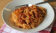 Spaghetti bolognese is a real Aussie family staple that makes a great midweek meal. This recipe contains tomato soup in the ingredients - it doesn't get any easier than this!