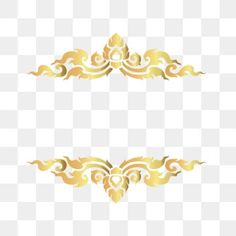 golden thai pattern border, -painting, Decorative Pattern, Texture PNG and Vector Frame Floral, Rose Frame, Thai Pattern, Retro Pattern, Certificate Design, Certificate Templates, Frame Background, Background Patterns, Adobe Illustrator