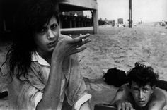 Untitled (Young couple on beach)  from Brooklyn Gang , 1959 Silver gelatin print 11 x 14 inches