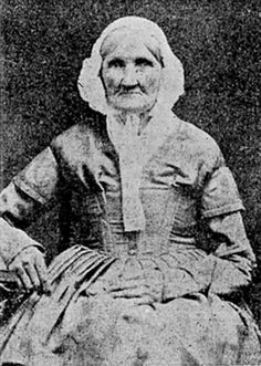 This is Hannah Stilley, born 1746, photographed in 1840. She may be the earliest born person ever captured on camera.