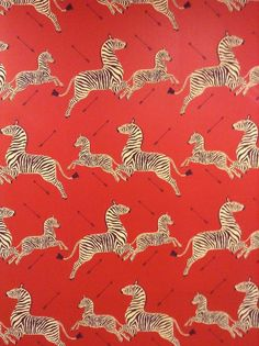 Scalamandre wallpaper with arrows from the Royal Tenenbaums. I am feeling very compelled to use this arrow Zebra Wallpaper, Print Wallpaper, Fabric Wallpaper, Iphone Wallpaper, Cool Patterns, Textures Patterns, Print Patterns, Kitsch, The Royal Tenenbaums