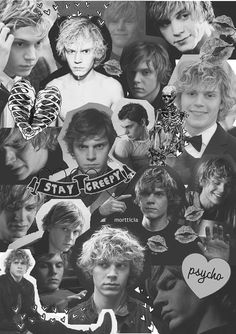 American Horror Story: Murder House - Tate Langdon the show that created my weird obsession with Evan peters Evan Peters, Tate And Violet, American Horror Story 3, My Sun And Stars, Horror Show, Raining Men, Cultura Pop, Coven, Best Shows Ever