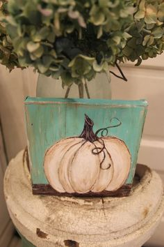Beautiful DIY Canvas Painting Ideas for Your Home Fall Canvas Painting, Autumn Painting, Autumn Art, Tole Painting, Diy Canvas, Fall Paintings, Pumpkin Painting, Canvas Ideas, Christmas Canvas Paintings