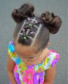 girl girl hairstyles Peinados fciles y bonitos par Girls Hairdos, Lil Girl Hairstyles, Braided Hairstyles, Teenage Hairstyles, Simple Girls Hairstyles, Cute Toddler Hairstyles, Pretty Hairstyles, Short Hairstyles, Mixed Baby Hairstyles