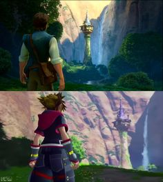 kingdom hearts 3 | Tangled world! I cannot wait to play this!