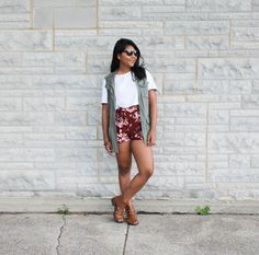 Cargo and Floral - The color palette a lifestyle, fashion & beauty blog