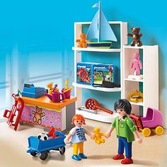 Buy Playmobil City Life Toy Shop from our Construction Toys range at John Lewis & Partners. Buy Toys, Toys Shop, Ikea Childrens Desk, Playmobil Sets, Ikea Trofast, Lps Sets, Ikea Kids, Beach Toys, Lego Storage