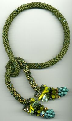 ~~Beadwoven necklace by Catherine Hysell~~