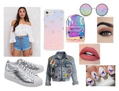 """#30"" by inesbento on Polyvore featuring Somedays Lovin, Sunday Somewhere, Sonix, adidas Originals, Alice + Olivia and Spiral"
