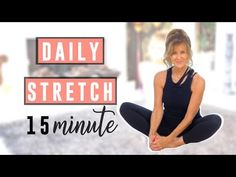 Stretching Routine For Flexibility, Daily Stretches, Stretch Routine, Body Stretches, Stretching Exercises, Morning Exercises, 14 Day Workouts, Health Fitness, Fitness Fun