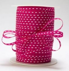 Cerise Coloured Ribbon Burgundy Color Magenta Clothing And Textile Handmade Cards Item