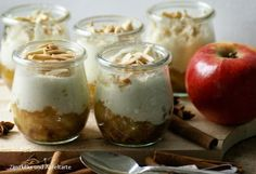 Dessert-Idee für Weihnachten: Bratapfel-Tiramisu ~ Desert idea for Christmas: baked apple tiramisu (food deserts winter)