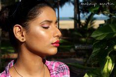 Radiantly Glowy Skin Makeup Look
