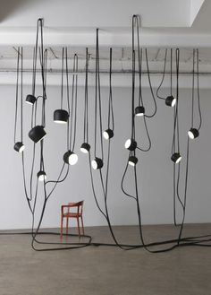 RONAN & ERWAN BOUROULLEC DESIGN, LIANES 2010: jungle of light.