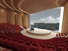 : Luxury Zibo Grand Theater Interior Decor