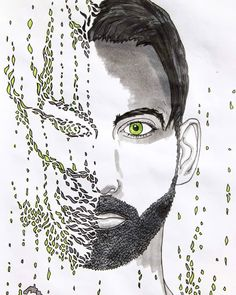 Selfportrait #selfportrait #portrait #copicmarkers #copic #drawings #drawingart #draw #artoftheday #art #artist #artistsoninstagram #artwork Copic Drawings, Drawing Sketches, Art Drawings, Copic Marker Art, Copic Markers, Art Day, Doodles, Portraits, Artist