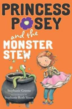 J SERIES PRINCESS POSEY. First-grader Posey and her friends are excited about Halloween, but also a little nervous about trick-or-treating and eating Miss Lee's monster stew.