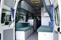 ford transit camper interior - Google Search
