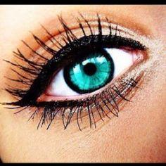 Green eyes- make up