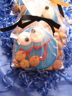 Cookie Monster Party Favors... Katie Lutz, thought of you