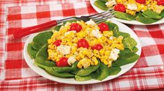 While this salad from Diana is quick and delicious with canned corn, it is even better with leftover corn-off-the-cob.