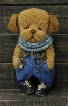 Cute teddy toy Puppy | Купить Имбирный пряник...Том... - щенок, щеночек, щенок тедди, щенок игрушка, собака, собачка