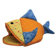 Kookamunga Funky Fish Cat Bed | PetSolutions