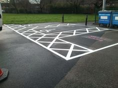 Home in Barton-on-the-Heath - The best outdoor surface painting company for car park line markings, cycle path colouring, playground repainting and anti slip colourful floor paint.
