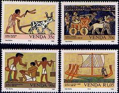 Venda 1992 Inventions Set Fine Mint                    SG 239 42 Scott 245 8 Other African and British Commonwealth Stamps HERE!