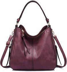 2fe21600ca82 Shoulder Bags for Women Large Ladies Crossbody Bag with Tassel  Handbags   Amazon.com