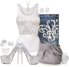 """""""Diamonds"""" by fabulousego ❤ liked on Polyvore"""