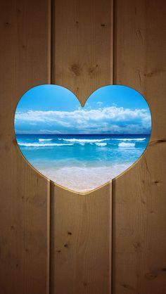 Ocean View Heart