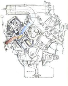 Ford 302 Motor Mounts likewise 1970 Ford 302 Engine Parts Diagram likewise RepairGuideContent additionally 95 454 Egr Wiring Diagram also Carburetor Parts. on small block chevy exploded view