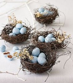 Easter with classic blue accents
