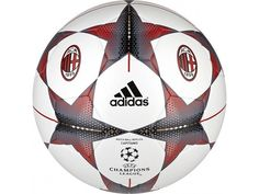 Adidas Finale 15 AC Milan 2015/16 Capitano Soccer Ball S90216 Size 5 White/Red #Adidas
