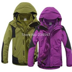 Generous In Autumn And Winter Outdoor Dress With Velvet Heavy Clothes Womens Suits Warm Windproof Waterproof Hiking Ski Suit Grade Products According To Quality Hiking Jackets Sports & Entertainment