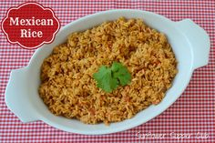 Sunflower Supper Club: Mexican Rice