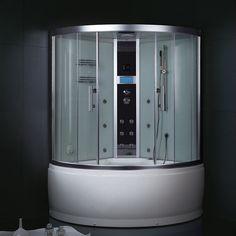 Combined bath shower units