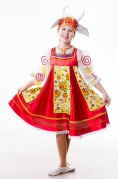 русский народный костюм козы