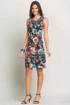 Çiçek Desenli Elbise bayramda tatile gideceğim orda giymek istiyorum çok tatlı :)