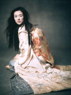 Ziyi Zhang in Memoirs of a Geisha (2005) by Paolo Roversi for Vogue US, December 2005.