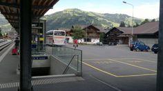 Piazzale della Stazione di Gstaad
